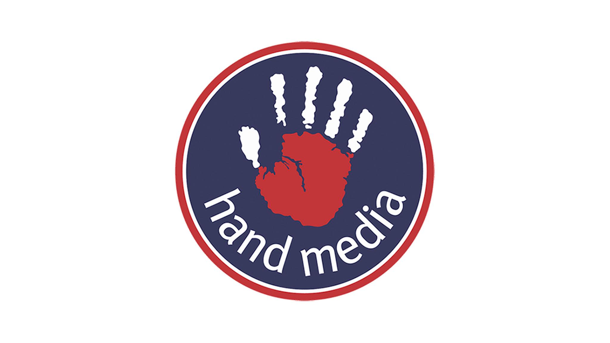 hand media logo