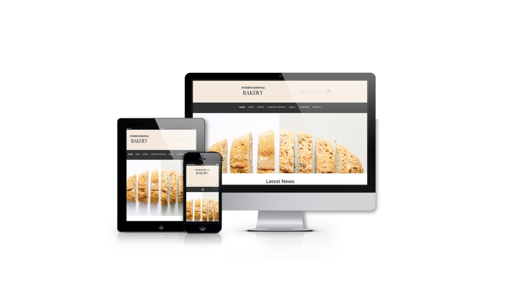 International Bakery in all devices