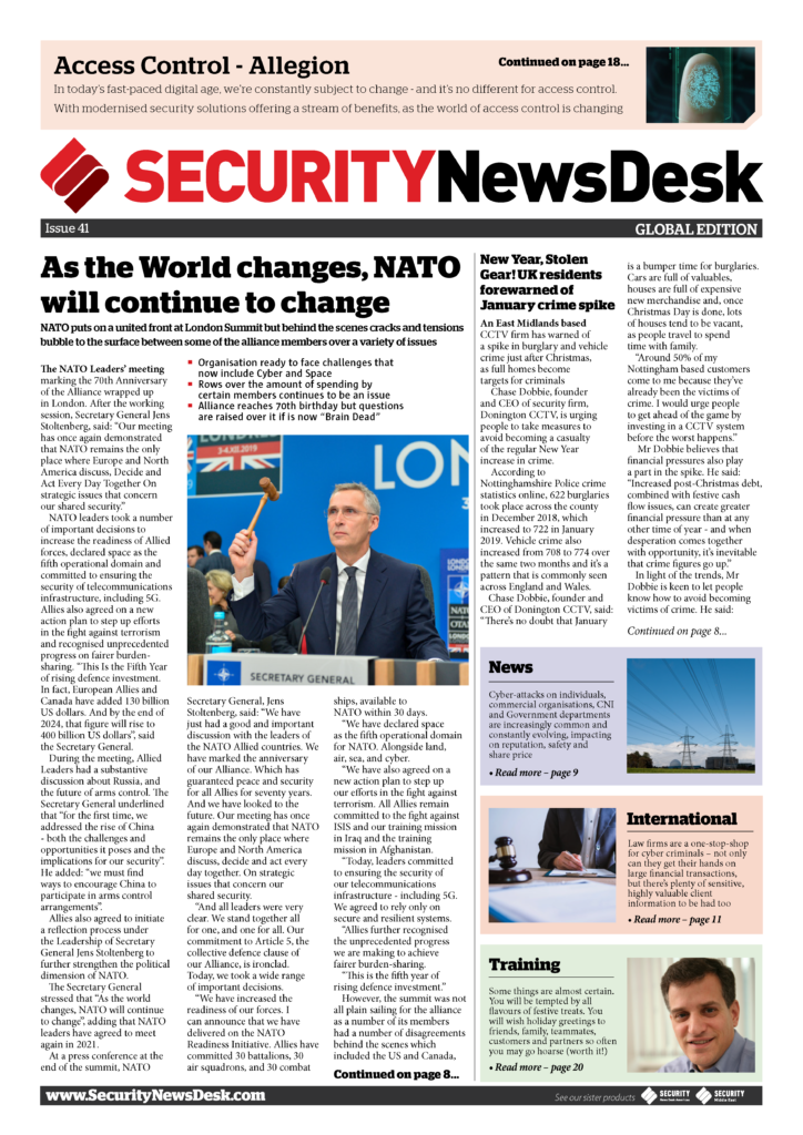 Security NewsDesk Magazine
