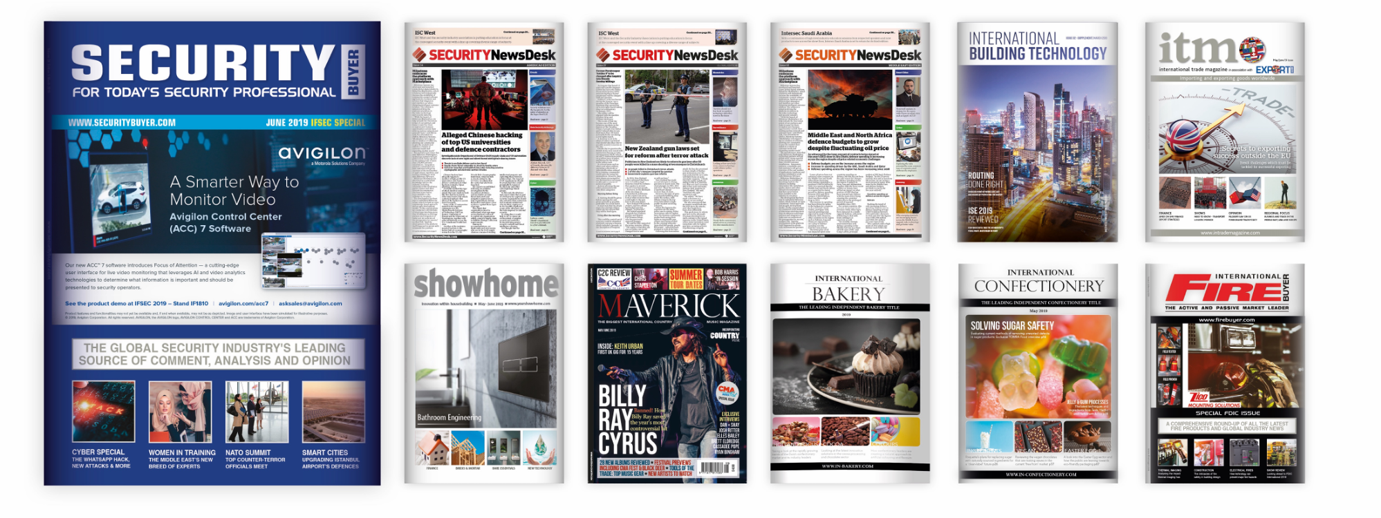 Hand Media magazines