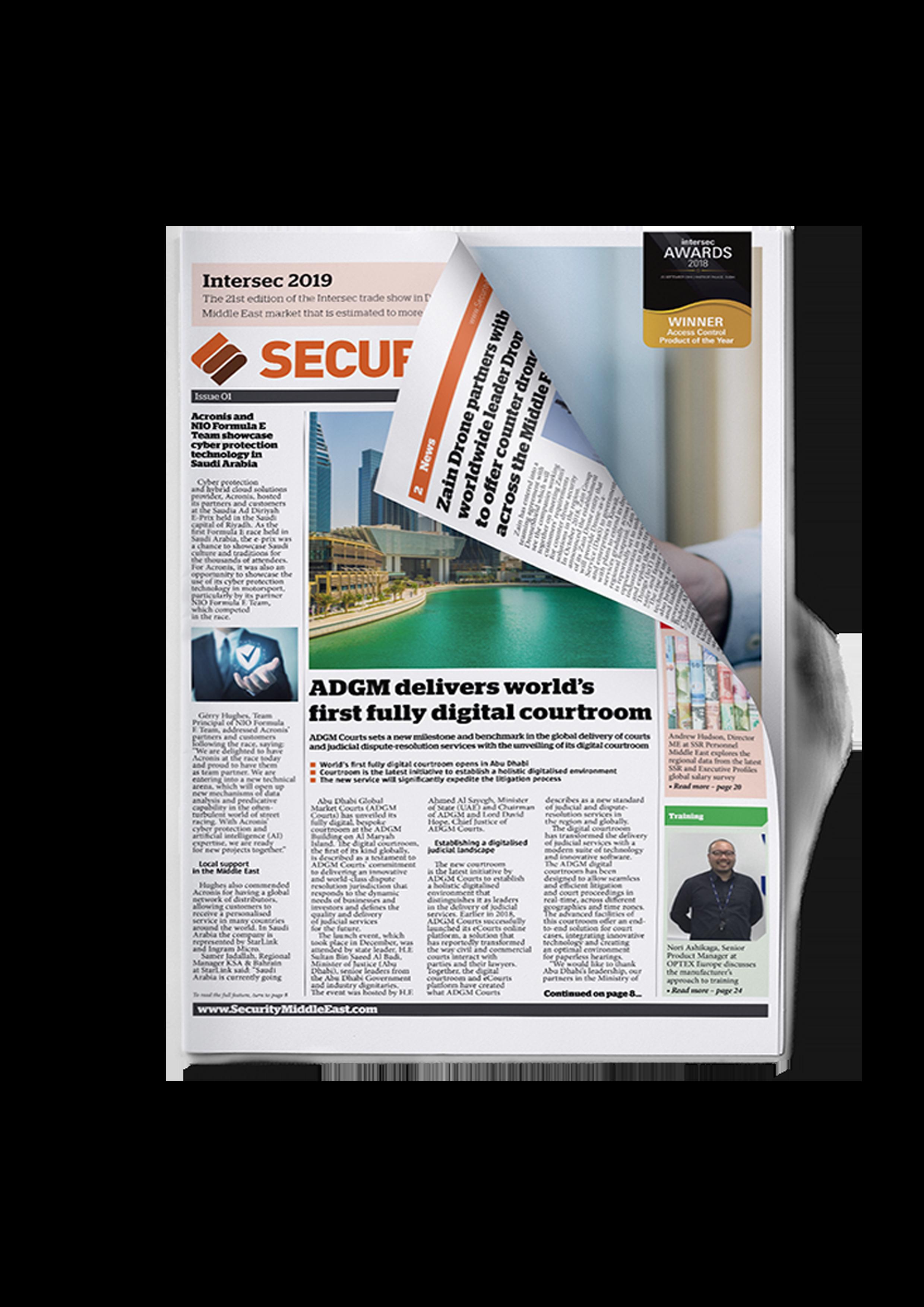 Security NewsDesk Middle East Magazine